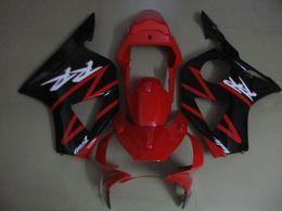 Cbr954rr impermeabile rosso nero online-Carenature rosse nere per Honda CBR900RR 2002 2003 Carene CBR954 02 03 CBR954RR CBR 954RR QR47