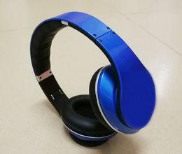 Wholesale Ipad Bluetooth Phone - 2017 Bluetooth Headsets HD 3.0 Headphones wireless DJ stereo audio On-ear Headsets Earphones for iphone ipad samsung 8 Colors by DHL