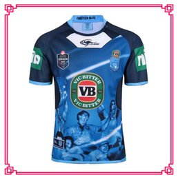 Wholesale Clothing Stops - Welsh holden nswrl 2017 NRL National Rugby League Nsw origins Rugby jersey NSWRL Holton Jerseys Training clothes shirt Size S-3xL
