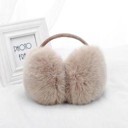 Earmuffs For  Winter Earmuffs Lovers Ear Warmer Plush Comfortable Warm Ear Cover Warmers For Girls TWE002-khaki от