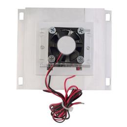 Wholesale Peltier Thermoelectric Cooling - HOT-Thermoelectric Peltier Refrigeration Cooling Cooler Fan System Heatsink Kit