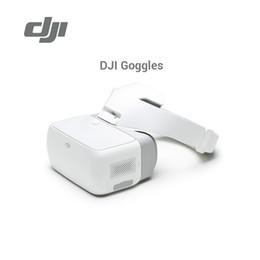 Wholesale head goggles - DJI Goggles Flying Glasses FPV HD VR Glasses for DJI Spark Mavic Pro Phantom 4 Inspire Drones 1920x1080 Screens Head Tracking by dhl