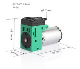 Membranpumpendruck online-Mini-Vakuumpumpe 24V mit Unterdruck -58Kpa Membran-Vakuumpumpe 2.5L / MIN Flow