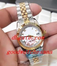 d796e7fd7954 Fábrica Proveedor Lujo Señoras Blanco Romano SS DateJust SANT BLANC Relojes  automáticos para mujeres reloj romano blanco baratos