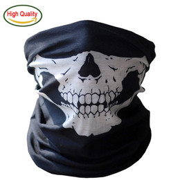 2140834c67b Bandana Halloween Bicycle Skull Mask Skeleton Ghost Half Face Shield Mask  Scarf Neck Warmer Hat Headband Headwear Neckerchief