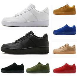 scarpe ad alto taglio bianco per gli uomini Sconti Nike Air Force 1 one  Classic Black 99a71a39955