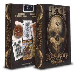 Wholesale Decks Bicycles - Free Shipping The two generation bicycle Poker alchemy Playing Cards Magic Props Magia Deck