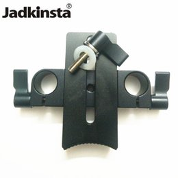rig-klemme 15mm Rabatt Jadkinsta Kameraobjektivhalter 15mm Rod Rig Clamp Fotografie Studio Kit Zubehör Rod Rig System Support