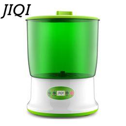 Argentina JIQI Brócoli de frijol inteligente Creador de hogar Mejora Termostato de gran capacidad Semilla Verde Growing Automatic Sprout Machine EU Suministro