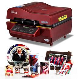 Wholesale printer press - 3D Subl Vacuum Machine, Subl  Heat Press Machine,Mug T Shirt Cell phone Case Printer,Cup  Digital Printing Machine