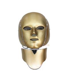Led foton a casa online-Professional Photon LED máscara facial rejuvenecimiento de la piel Anti-envejecimiento belleza terapia luz para uso en el hogar instrumento de belleza