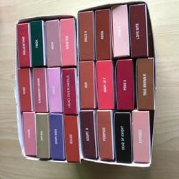 Wholesale Velvet Smile - 42colors smile TRAIN LIP KIT smile color Matte Liquid Lipstick & Lip Liner lip Velvetine in Red Velvet Makeup