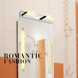cuarto de baño luz art deco Rebajas 8W Moderno LED de cristal baño espejo  Apliques de 615bc188666d