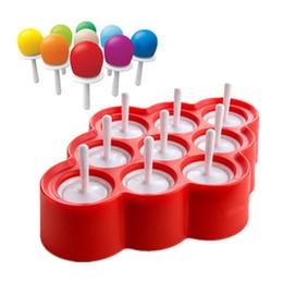 Silicone Mini Glaçons Pop Moule À Crème Glacée Lolly Maker Moules À Popsicle Avec 9 Autocollants Crèmes Glacées Fabricants Pour L'été wn516 ? partir de fabricateur