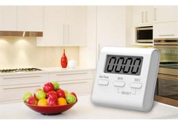 temporizador de diseño Rebajas el LED digital del temporizador de cocina muestra el imán de adsorción posterior de volumen ajustable para diseñar el temporizador de precisión de material ABS verde