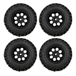 Wholesale Plastic Rims For Cars - Wholesale!100% 4X 1 10 Climber Off-road Car Wheel Rim+Tire 260001 for Traxxas HSP RC Car