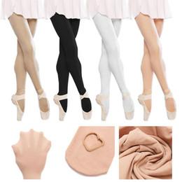 f673d57afdb Children Girls Convertible Tights Ballet Dance Stocking Socks Ballet  Pantyhose Gymnastics Leotards Kids Ladies Tap Dance Tights