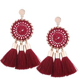 Canada Boucles d'oreilles à la main gland pour Lady Fashion Bohème Stud américain et européen Style personnalité Top qualité boucle d'oreille Offre
