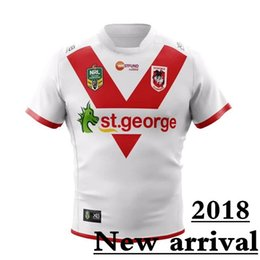 Wholesale Product Listings - ST GEORGE DRAGONS 2018 HOME JERSEY size S--3XL New products are listed, top quality , free delivery. 2018 Highlanders super rugby training