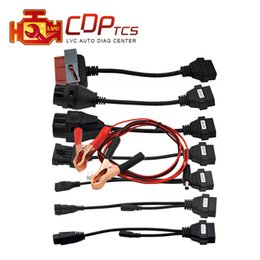 Wholesale Obd Interface Cable - Adapter Cables For CDP TCS Pro OBD2 OBDII Cars Diagnostic Interface Tool Full set 8 Car Cables For CDP TCS OBD 2 cable leads
