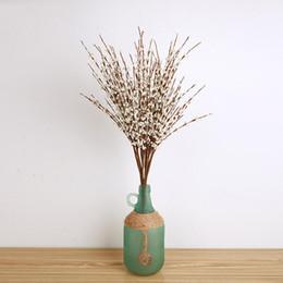 Wholesale Wholesale Jasmine Flowers - 10pcs lot Winter Jasmine PE Artificial Flowers Simulation bouquets Wedding Home Decor 4 Color