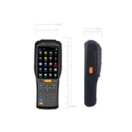 2019 rfid lesegerät handheld GSM / GPRS / WCDMA Drahtlose Datenübertragung Sprechen Handheld PDA-Unterstützung RFID / NFC-Reader-Tickets für 1 / 2D-Scanner rabatt rfid lesegerät handheld