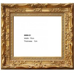 Wholesale Oil Paintings Woods - Wood photo frames for picture prints oil painting for home wall art