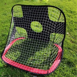 Wholesale Toys Gate - Kids Pop-Up Football   Soccer Toy Gate Boys 210D Oxford Generic Gate Football Soccer Goals Pop Up Net Tent Kids Outdoor Play Toy