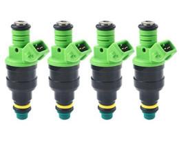 nissan partes nuevas Rebajas VENTA AL POR MAYOR- 4pcs Inyector de combustible de alto rendimiento 440cc universal EV1 inyector de combustible 0280150558 para Ford Audi bmw vw tuning racing