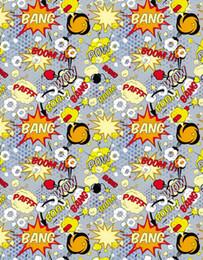 Wholesale Photography Backdrops For Kids - 5x7ft Vinyl Cartoon Bombs Graffiti Pattern For Kids Children Backdrop Photography Studio Background