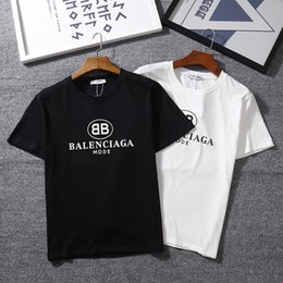 Camiseta de hombre Marca BB MODE Logo Letra Camiseta impresa Manga corta Mujeres Hip Hop Street Ropa exterior Kanye West Tops Camiseta Homme desde fabricantes