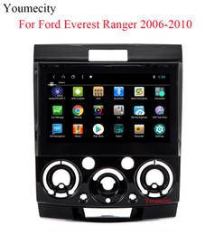 ford focus construído gps Desconto Unidade central do carro do reprodutor de DVD do núcleo do núcleo 8.1 Octa do andróide para Ford Everest 2006 -2011 Ranger 2006-2010 de rádio / Bluetooth / Gps + Glonass