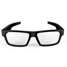 micrófonos para cámaras Rebajas GANSS Mini Videocámaras Gafas Inteligentes Sin Botones Grabador de Cámara de Video DV Deportivo Portátil HD 1080p Graba DVR Vidicon 16G Con Micrófono
