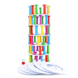 Wholesale Board Puzzles - Tower Collapse Game Fun Suck Board Punishment Children Kid Intelligence Developmental Puzzle Stick Toys New Interesting Education Toy 17db V