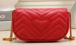 Wholesale italian tote bags - Fashion Luxury Designer Handbags High Quality Valentine Italian Genuine Leather Bag Rivet Chain Crossbody Bags For Women Shoulder Bags 852
