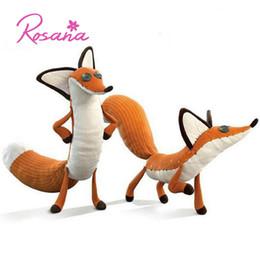 2019 boneca de bebês bonitos 60 cm / 45 cm Bonito Boneca De Pelúcia Fox from Movie / Story O Pequeno Príncipe Stuffed Animals Toy Educacional Crianças Bebê Xmas / Presente de Aniversário desconto boneca de bebês bonitos