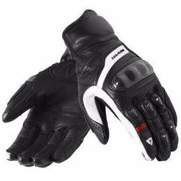Wholesale Revit Xl - new 2017 Revit Motorcycle Gloves black Racing Gloves Genuine Leather Motorbike Gloves