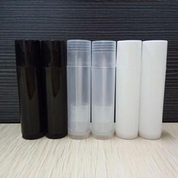 imballaggio all'ingrosso lucido lucido Sconti 5g all'ingrosso PP Rossetto tubo di plastica trasparente riutilizzabile vuota Lip Balm Brush Gloss Packaging Bottiglia LX1317