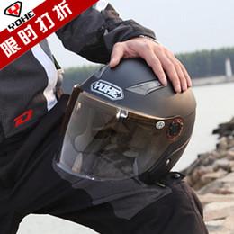 Wholesale Electric Dirt Motorcycle - summer half face yh837 electric bicycle knight helmet motorcycle helmet YOHE 837 scoote dirt bike