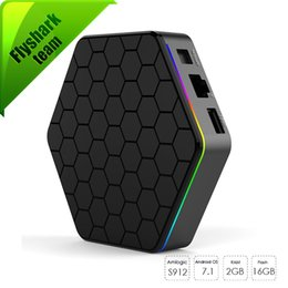 Wholesale Wifi 5ghz - T95Z Plus KD17.1 Android TV Box amlogic S912 Octa core 2GB 16GB 5GHz Wifi BT 4.0 chromecast free movies smart tv streaming boxes
