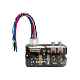 conversor para carro Desconto 12 V TD-22 Auto Car Audio Conversor RCA Estéreo de Alta a Baixa Freqüência Linha Speaker conversor de nível Adaptador