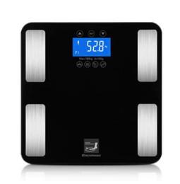 Smart Touch Вес Измерение 400 фунтов / 0,1 кг Цифровые весы Track Body Weight BMI Fat Water Calories Масляные весы для ванной комнаты от Поставщики x сигарета