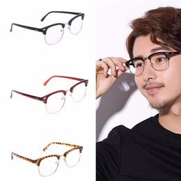 99f91c91848 Discount wholesale rimless eyeglasses - 1PC Myopia Glasses Frame Men Women Metal  Half rimless Glasses Optical