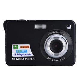 Wholesale Mega Zoom Cameras - Mini Camera 18 Mega Pixels Multi-functional Portable 2.7 Inch TFT Pocket 8X Digital Zoom Capture Camera