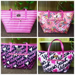 Wholesale Fabric Storage Totes - VS Shoulder Bags Handbag Women 4 Design Gym Yoga Tote Bags Nylon Waterproof Outdoor Travel large Capacity Storage Bags best HHA3