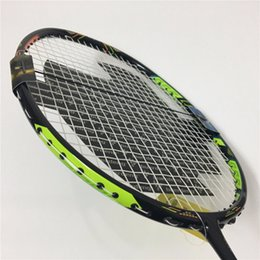 Wholesale racquet stringing - DUORR 10 Badminton racket string strung DUO 10 Badminton racquet carbon overgrip 4U rackets nanoray DUORR LCW