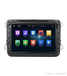 Wholesale Dvd Octavia - 2 Din 8 Inch Car DVD Player 4G SIM LTE Network Octa 8 Core Android 8.0 4G RAM 2 Din Car DVD GPS Navi Radio Player For VW Skoda Octavia