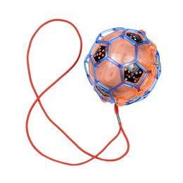 Niños saltando la pelota online-VENTA CALIENTE LED Luz Jumping Ball Kids Crazy Music Fútbol Niños Divertido Juguete