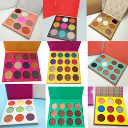 Paleta de moda on-line-Em estoque ! Maquiagem de alta qualidade Professional Eyeshadow Moda Color Eyeshadow Palette Epacket