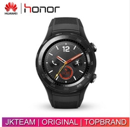 Wholesale Original 4g Huawei Smart Phones - Original Huawei Watch 2 Smart watch Support LTE 4G Phone Call Heart Rate Tracker For Android iOS IP68 waterproof NFC GPS
